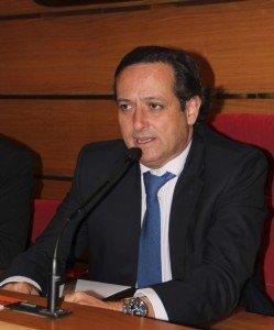 Juan Pablo Lázaro en uno de los eventos organizados por ECOFIN.