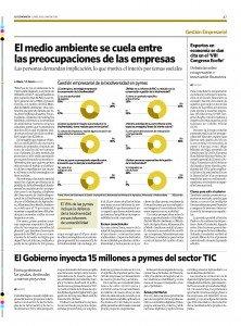 Columna en el Economista anunciando el VIII Congreso ECOFIN 2015
