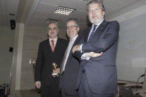 Salvador Molina, Javier Fernández Aguado e Íñigo Méndez de Vigo.