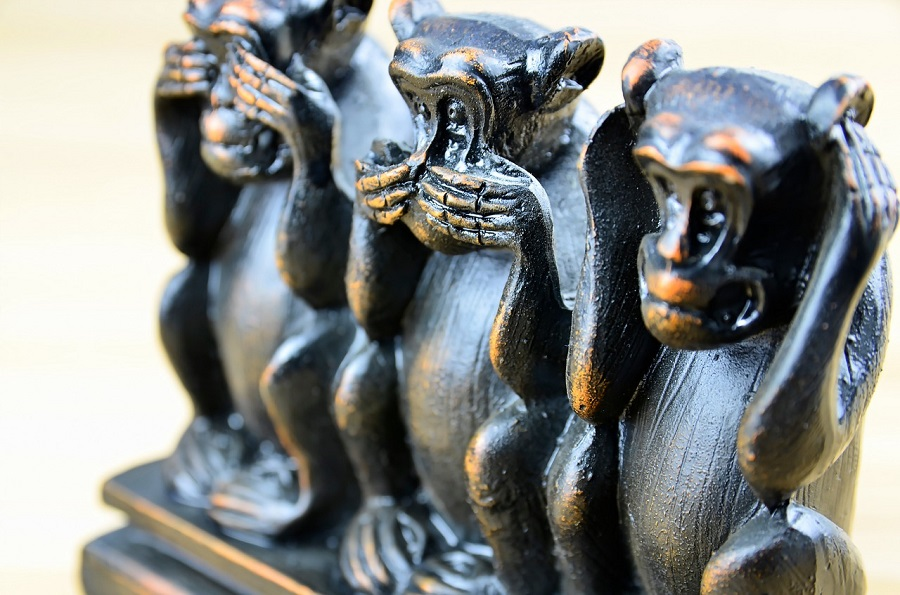 three-monkeys-1212617_1280
