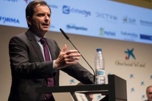 Ignacio Bernabé durante su ponencia en el 9º Congreso ECOFIN.