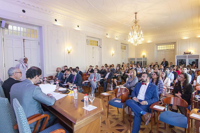 Global Youth Ladership Forum en su edición de 2016.