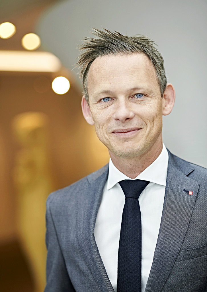 Olivier Onclin, Chief Operating Officer (COO) de Belfius.