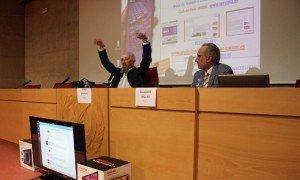 Pedro Aparicio y Salvador Molina en el III Congreso ProCom 2013