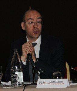 David Cano fue el encargado de la ponencia marco del VI Congreso Ecofin
