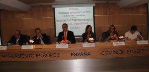 Manuel Gago, Francisco Fonseca, Salvador Molina, Teresa Jiménez-Becerril, Carmen M. García y Pilar Gómez-Acebo