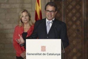 Artur Mas and Joana Ortega