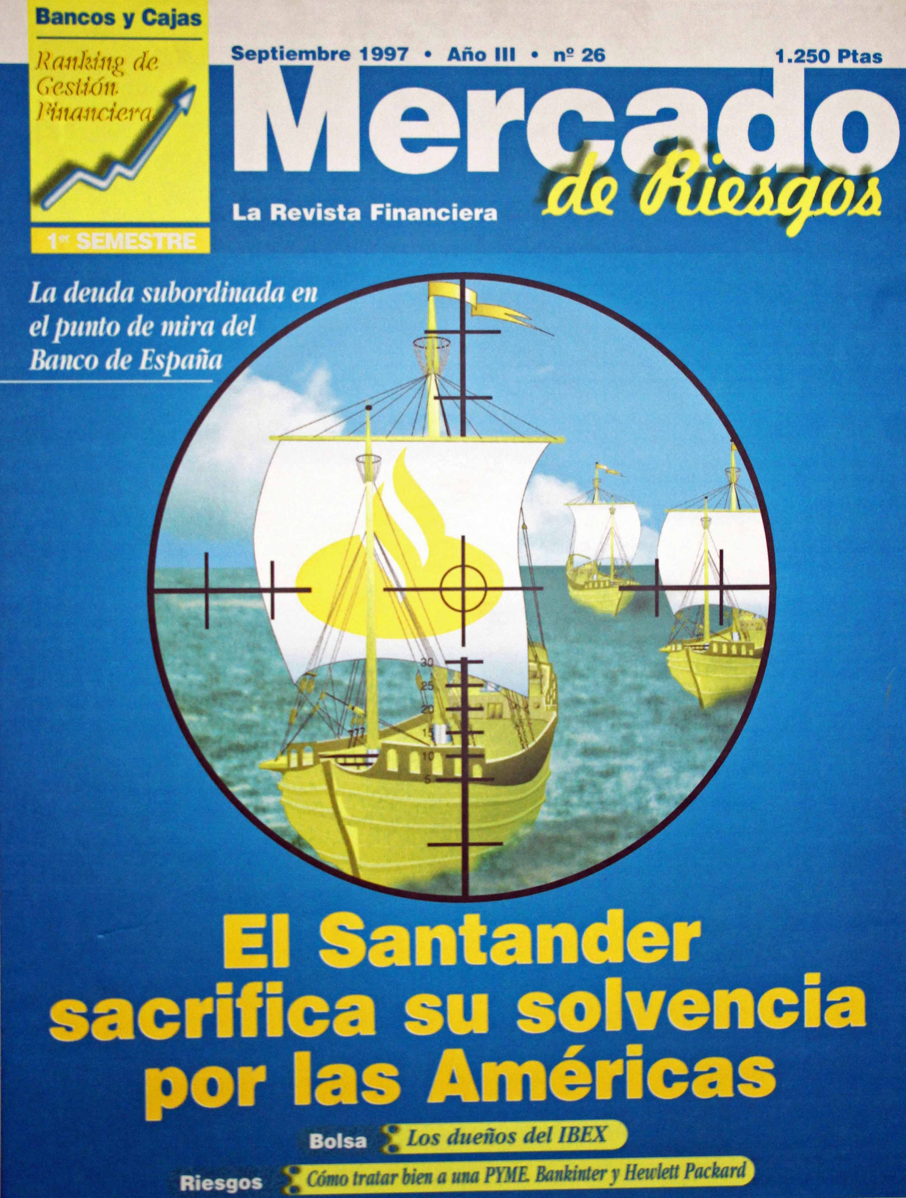 Santander sacrifica su solvencia por las Américas