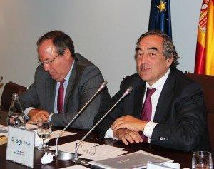 Jesús Terciado y Juan Rosell.