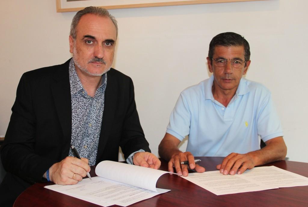 Salvador Molina y José Luis Amores.