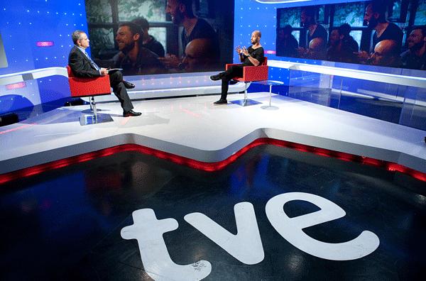 Juanma Romero en el programa de RTVE 'Emprende'.