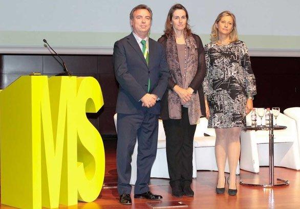 José María Campabadal, María Flavia Rodríguez y Elena Jiménez de Andrade.