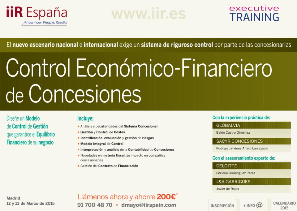 Impacto Training Calendario.La Agenda De Iir Espana Arranca Completa 2015 Ecofin