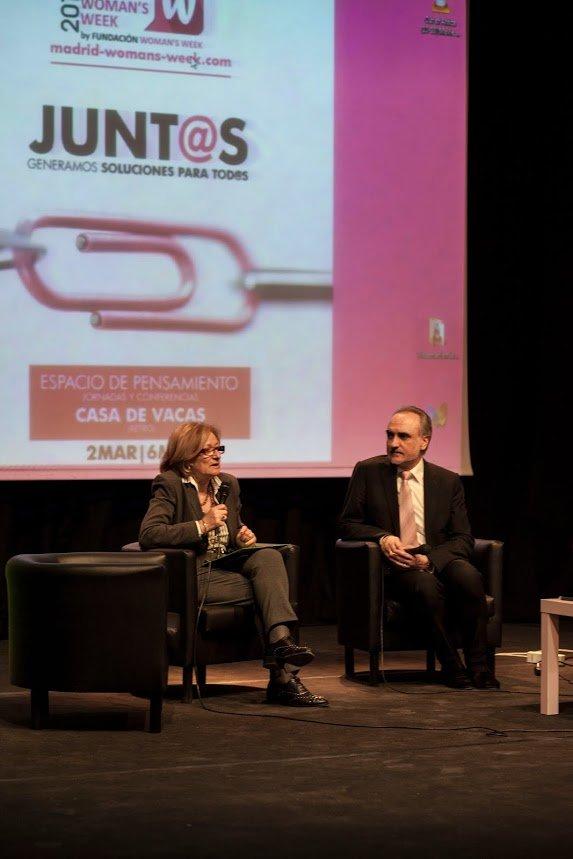 Montserrat Tarrés y Salvador Molina en MWW 2015