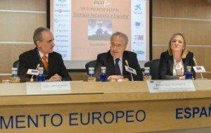 Inauguración del ECOFIN 2014 en la sede de la UE.