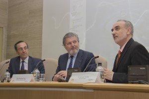 Ronald Bunzl, Íñigo Méndez de Vigo y Salvador Molina.
