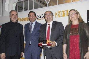 Salvador Molina, Íñigo Fernández de Mesa, Ángel Ron e Irene Garrido