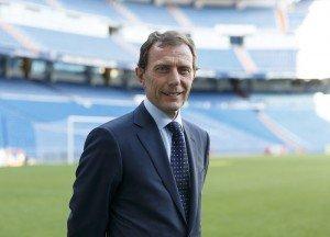 Emilio Butragueño, director de Relaciones Institucionales del Real Madrid.
