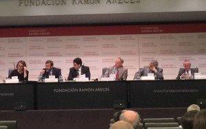 Presentación del informe del FMI en la Fundación Ramón Areces.