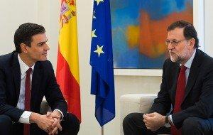 Sanchez y Rajoy