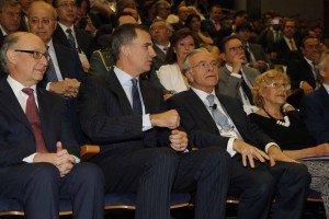 Congreso CEDE -Rey -Fainé -Montoro -Foto Casa Real -low