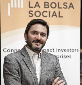 José Moncada, director general de La Bolsa Social.