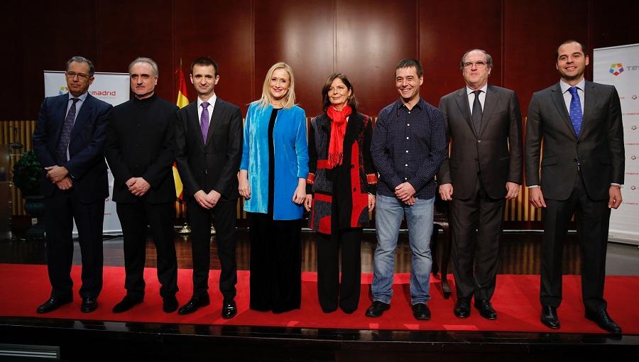Gonzalo Pérez. 22 de febrero de 2017. Toma de posesión del nuevo director general de Telemadrid
