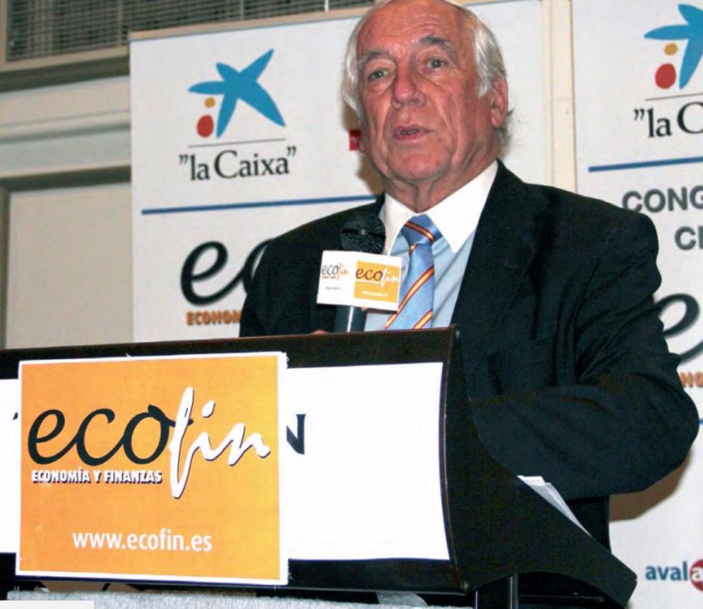 Carlos Espinosa de los Monteros, Alto Comisionado de Marca España, en los Premios ECOFIN 2013.