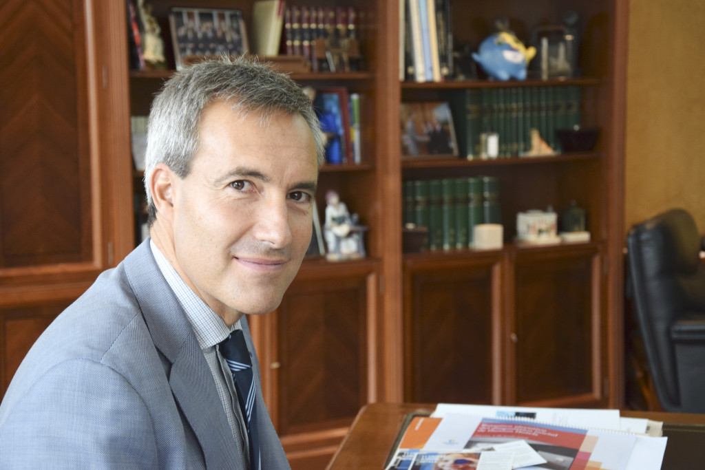 Alejandro Oñoro, consejero delegado del Grupo Ilunion.