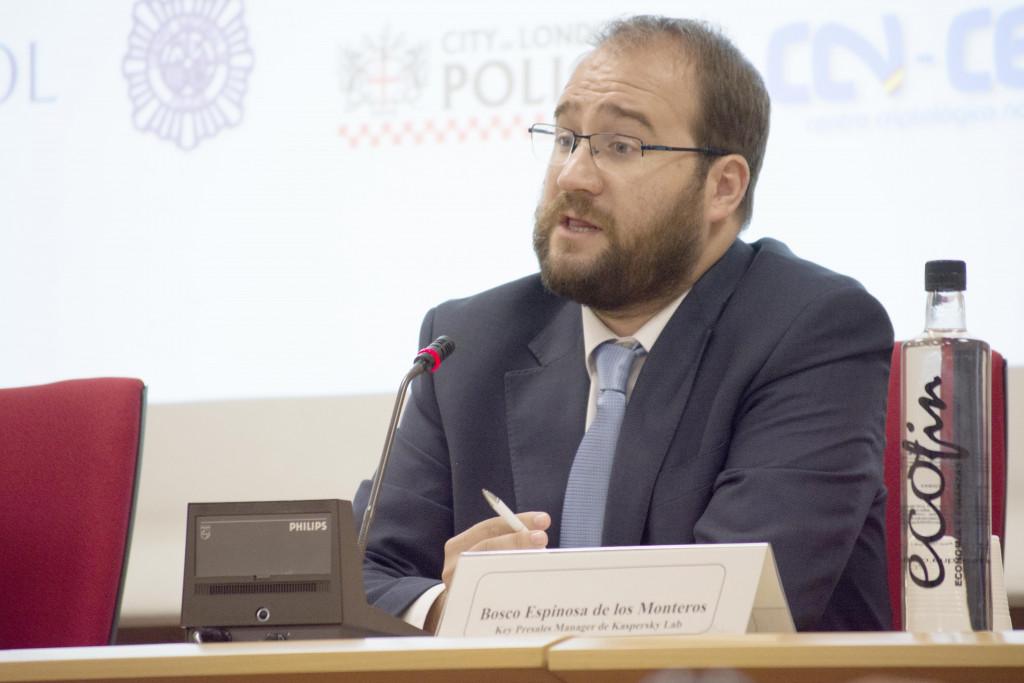 Bosco Espinosa de los Monteros, key presale manager de Kaspersky Lab.