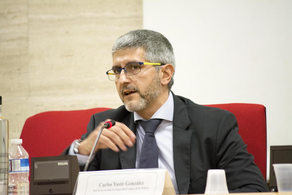 Carlos Yuste, jefe de la Seguridad Lógica de la Policía Nacional.