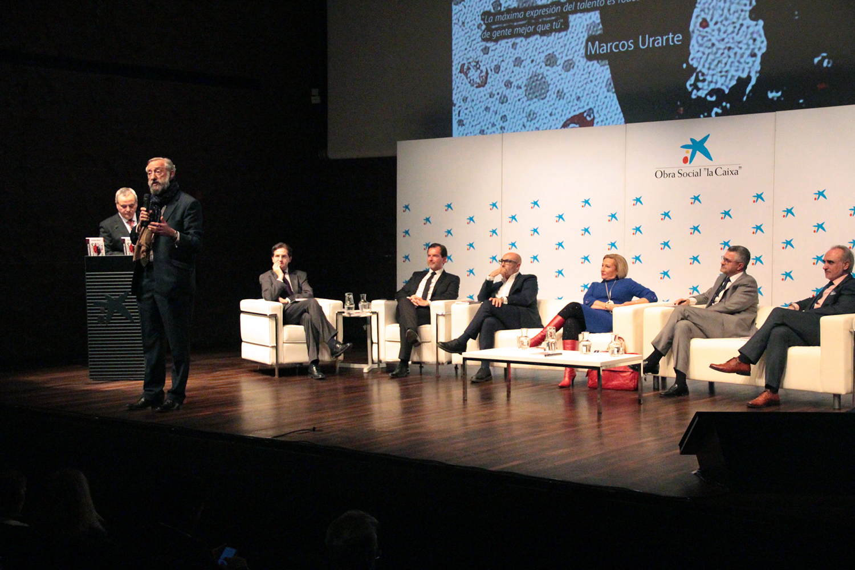 """Fernando Moroy durante la presentación de """"Los Imprescindibles del Management"""""""