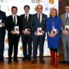 Algunos Top Ten español de Los Imprescindibles del Management y el autor del libro, Salvador Molina.