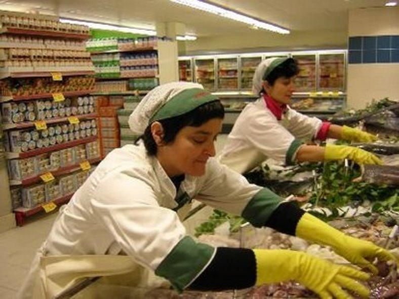 Un supermercado en el que a pesar de que parece que la forma de trabajar sigue siendo la misma de siempre