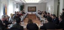 Mesa de votaciones del jurado de los premios ECOFIN 2018