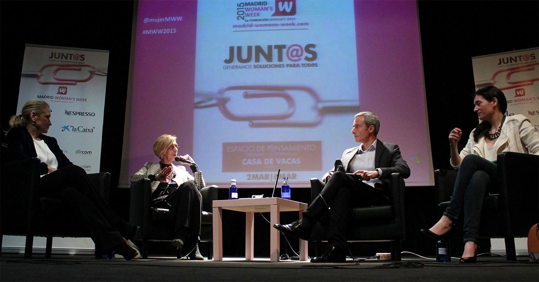 La mesa sobre liderazgo femenino de MWW2015 contó con la presencia de Cristina Cifuentes, Carmen Montón y Rosa Díez.