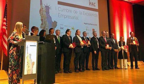 Premiados en la I Cumbre de la Excelencia Empresarial