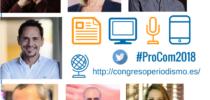 Cartel del 8º Congreso Nacional de Periodismo 2.0