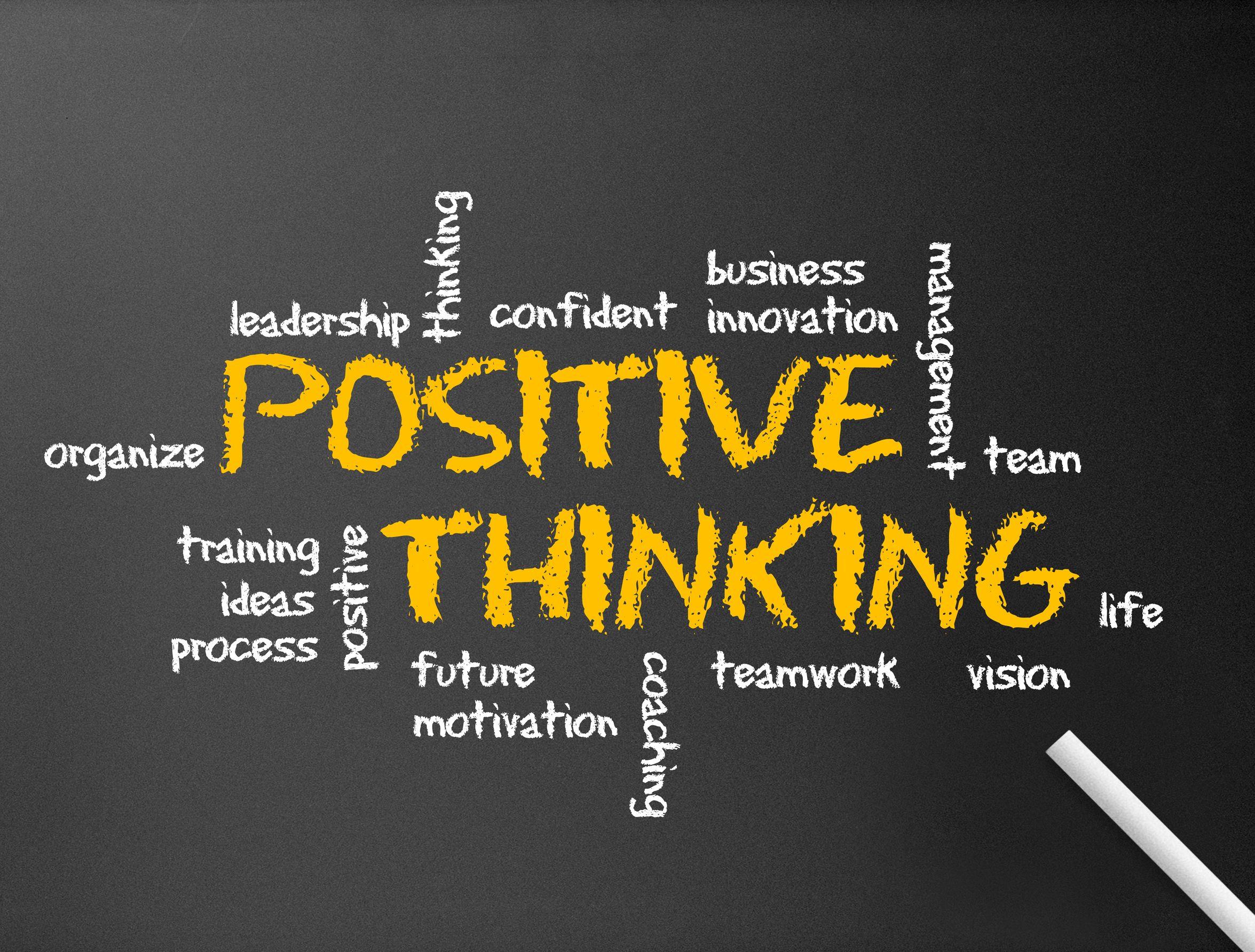 Pensamiento positivo = liderazgo efectivo