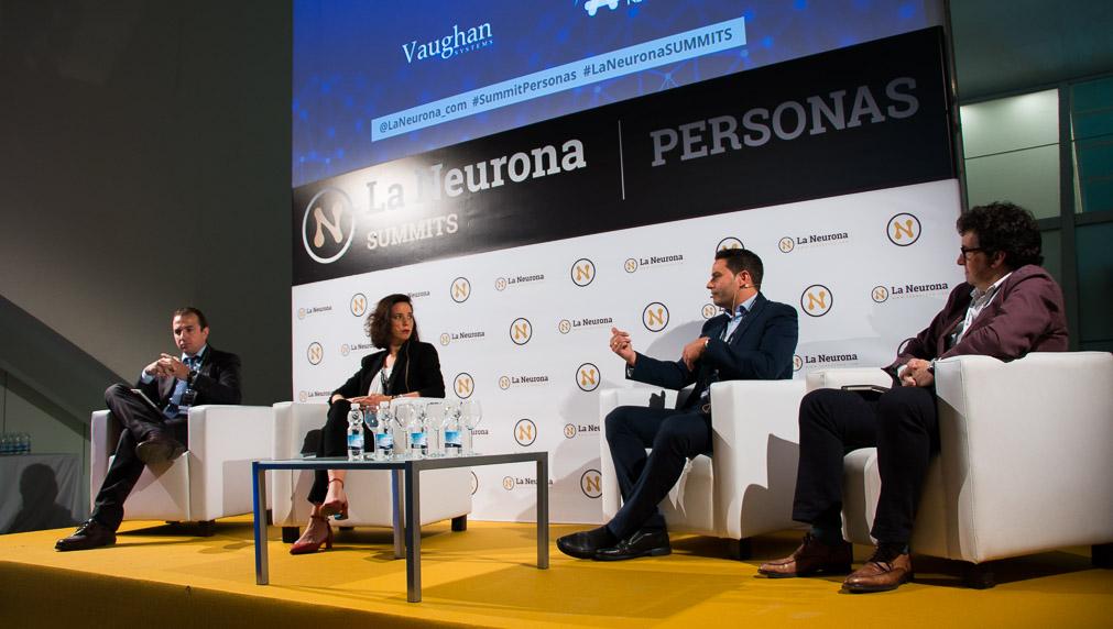 Sala de Recursos Humanos durante La Neurona Summits Valencia.