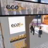 Stand del Foro ECOFIN en el primer Foro Internacional de Talento 3D.