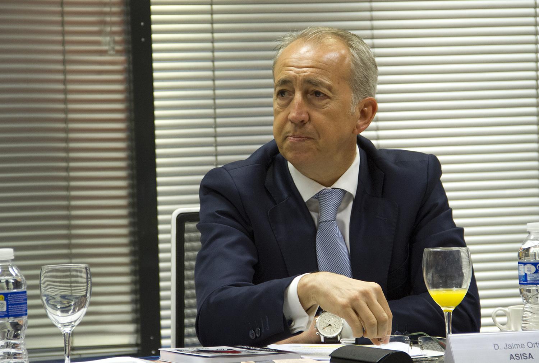 Jaime Ortíz, director comercial de Asisa.