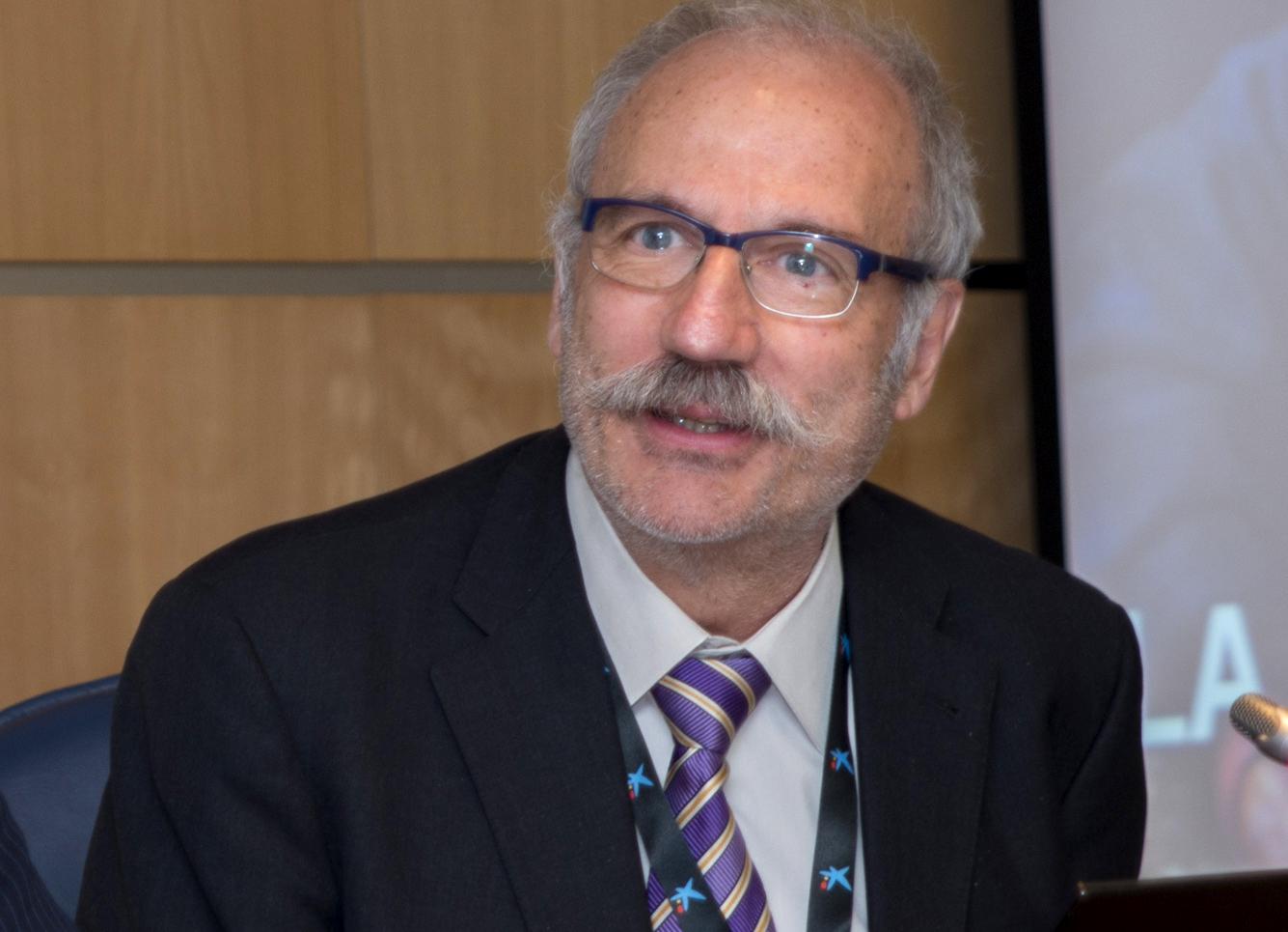 Ramon Trias durante el Congreso ECOFIN 2014.