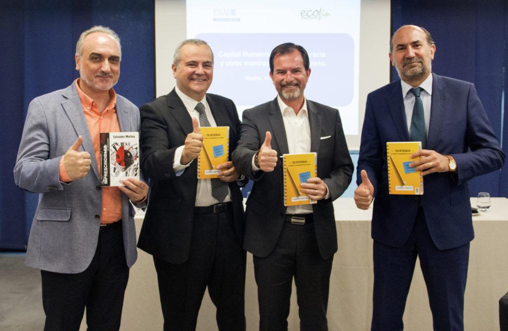 De izquierda a derecha: Salvador Molina, Juanma Romero, Ignacio Bernabé y Enrique Verdeguer.