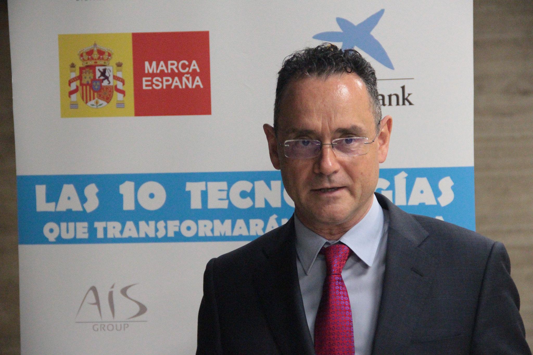 Pedro Baños durante el Congreso ECOFIN 2018.