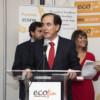 Antonio Huertas durante su discurso en La Noche de las Finanzas 2018 (Fotografía: Cristina Indurria).