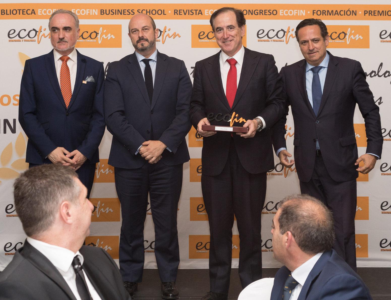 De izquierda a derecha: Salvador Molina, Pedro Manuel Rollán, Antonio huertas y Juan Pablo Lázaro (Fotografía de Laura Bonachea).