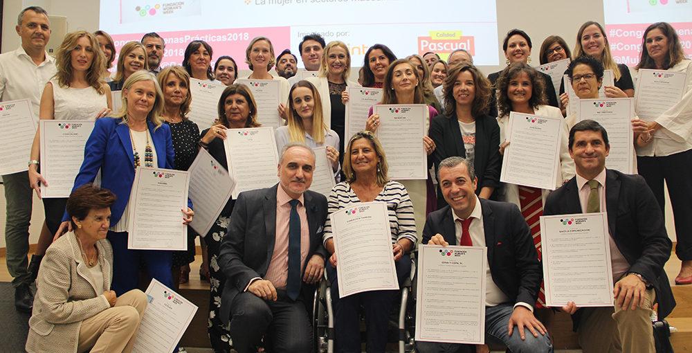 Foto de grupo del Congreso de Buenas Prácticas por la Igualdad 2018.
