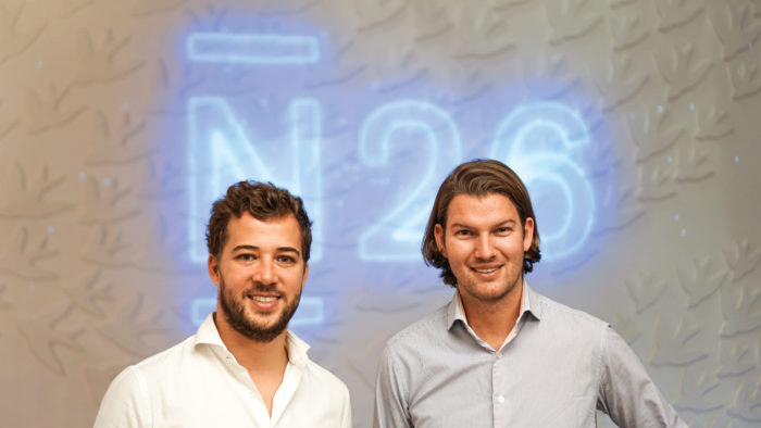 Francisco Sierra, director general España de N26, y Valentin Stalf, CEO de N26.