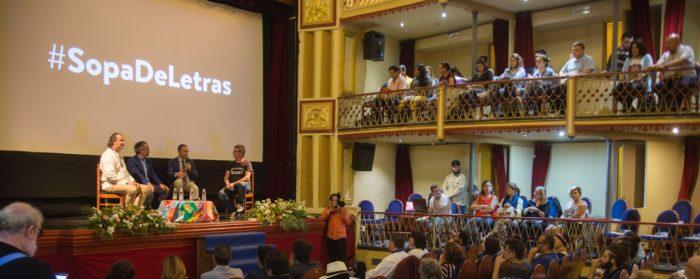 """el Teatro Thuillier de Caravaca de la Cruz es el escenario escogido para la celebración de la jornada multidisciplinar """"Sopa de Letras"""""""